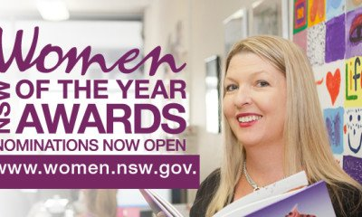 Nominations for the 2018 NSW Women of the Year Awards are now open. If you know of any remarkable women in our community you can nominate them on the following link.
