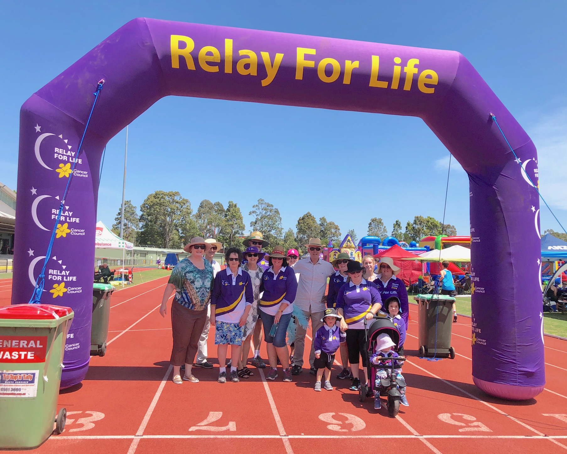 Great to catch up with everyone at Cancer Council NSW - Hunter Region for the annual Relay For Life at the weekend. Despite the oppressive weather conditions and heat at Glendale Sports Centre,