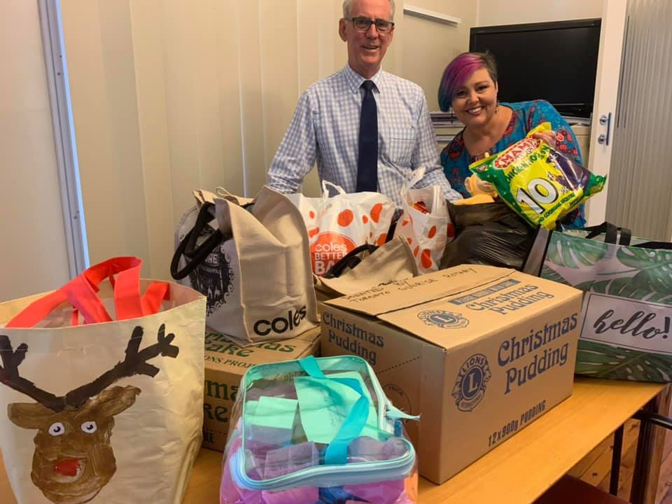 Thank you! We've managed to raise enough money, food and toys to replace everything that was stolen from Cooranbong's Southlake Marketplace earlier this week.