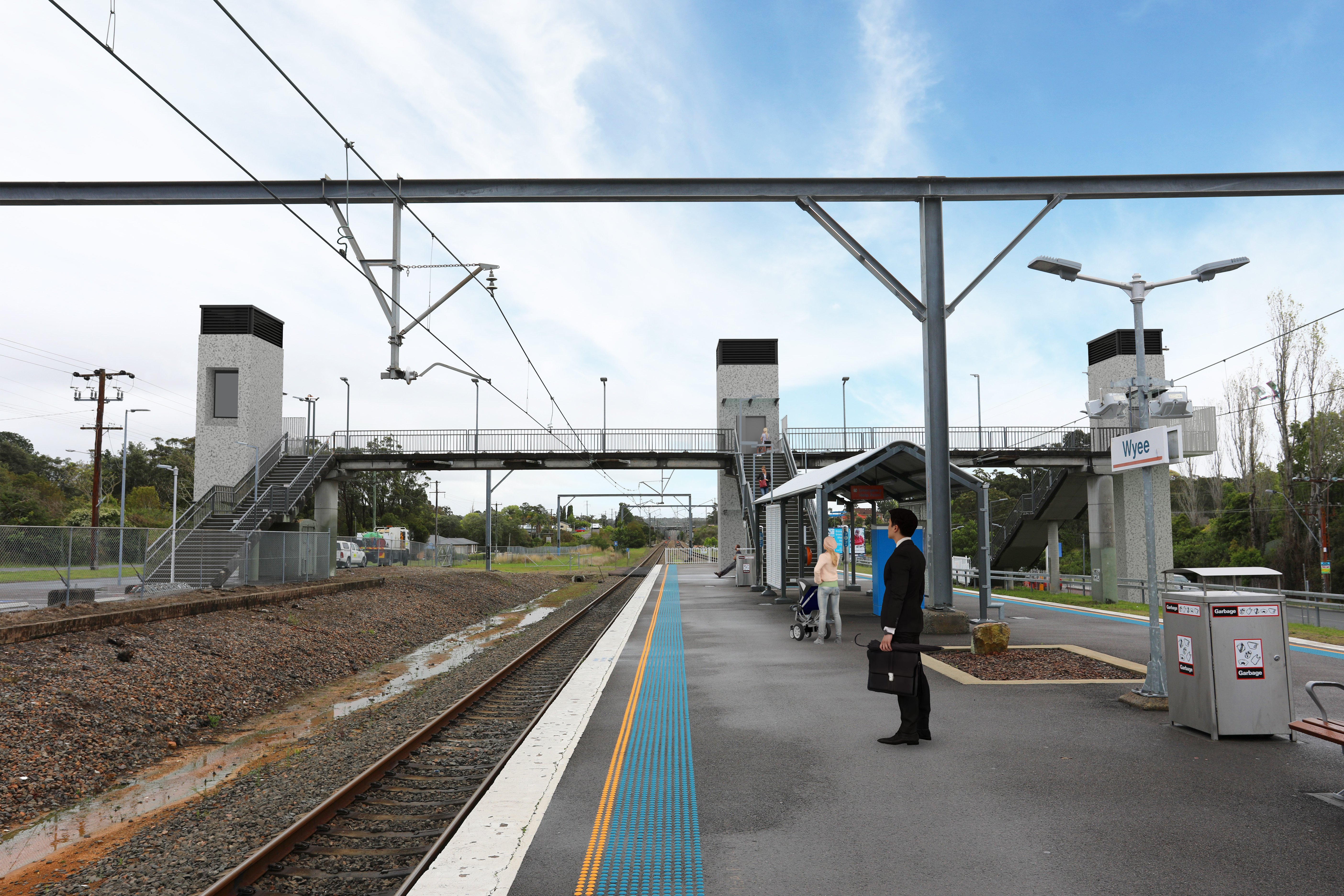 Work on the upgrade of Wyee Station will start in coming months with Transport for NSW awarding a works contract to construction firm Gartner Rose.