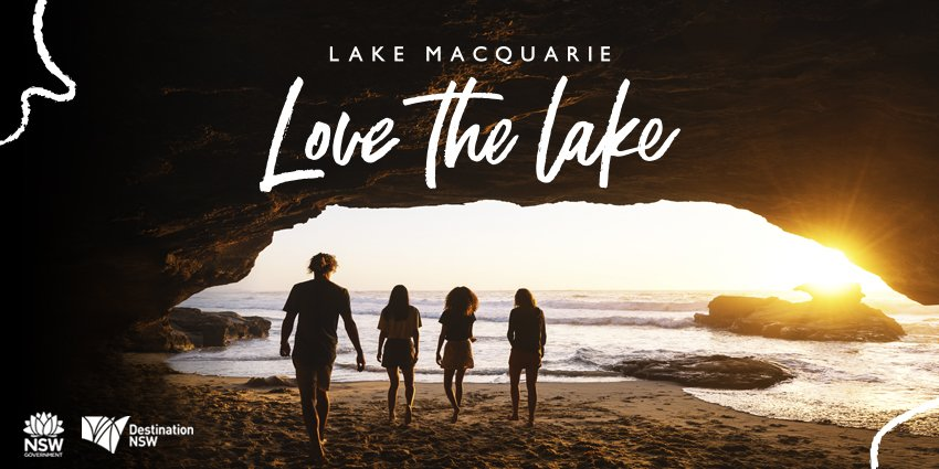 Great to see Lake Macquarie featured in a new statewide tourism campaign which kicked off today.