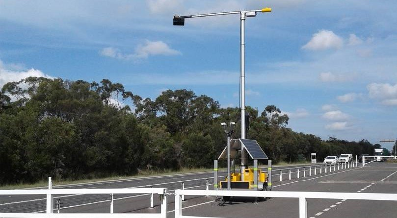 One of the new mobile phone detection cameras was set up in the Hunter Valley for nine days recently. It caught 370 drivers illegally using their
